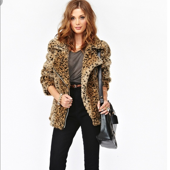 6d07eb76ad60 UNIF Jackets & Coats | Donna Leopard Coat | Poshmark